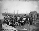 black laborers for Union on James River loc