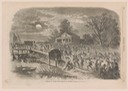 stampede of slaves from Hampton to Fortress Monroe loc